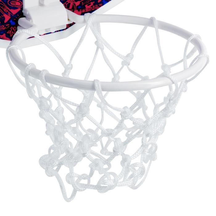 Mini panneau de basket enfant/adulte Set Mini B New York bleu. Ballon inclus. - 1089216