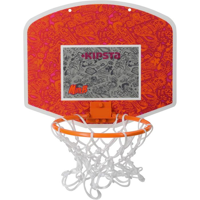 Mini panneau de basket enfant/adulte Set Mini B New York bleu. Ballon inclus. - 1089227