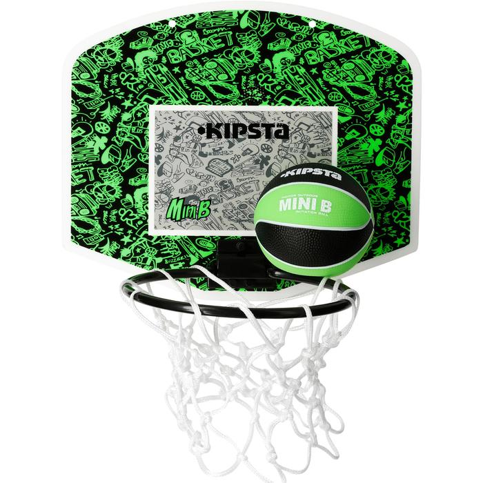 Mini panneau de basket enfant/adulte Set Mini B New York bleu. Ballon inclus. - 1089239