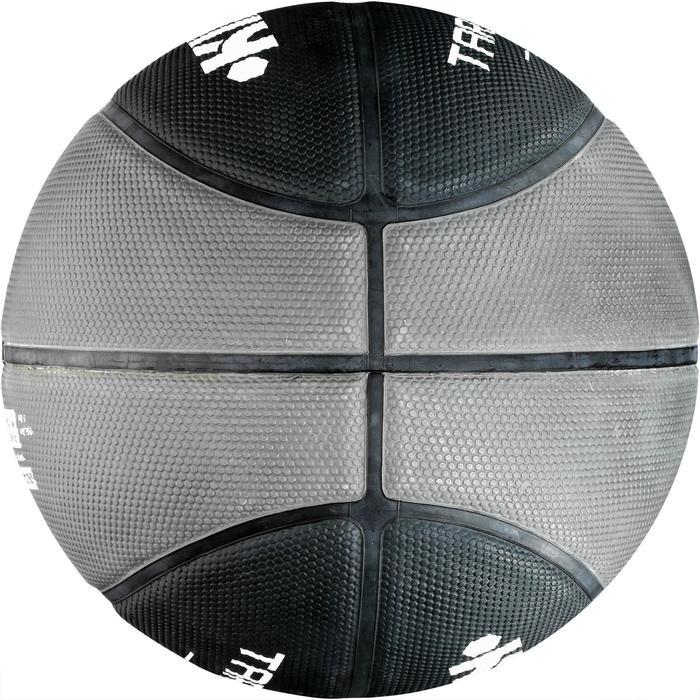 Ballon de basket homme R300 taille 7 noir. Résistant. A partir de 14 ans. - 1089360
