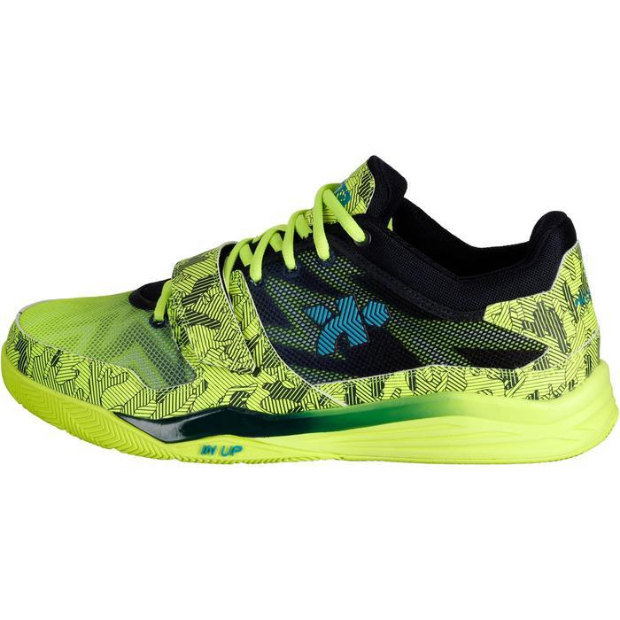 Chaussure basketball adulte Fast 500 jaune fluo