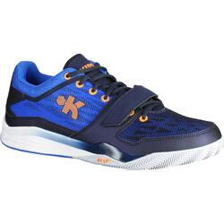 Fast 500 Adult Intermediate Low Basketball Shoes - Blue/Orange