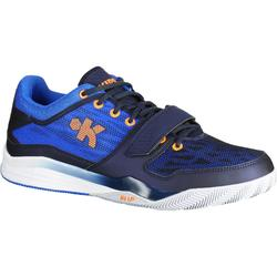 Fast 500 Adult Experienced Low Basketball Shoes - Blue/Orange