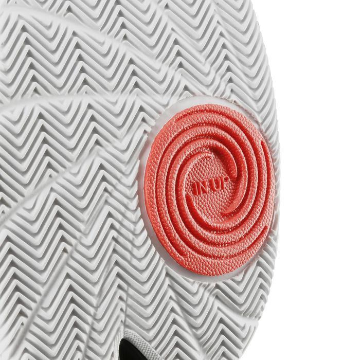 Basketbalschoenen laag Fast 500 VW gevorderden zwart/rood