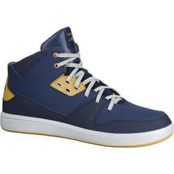 Basketbalschoenen Bball Mid 500 volwassenen marineblauw