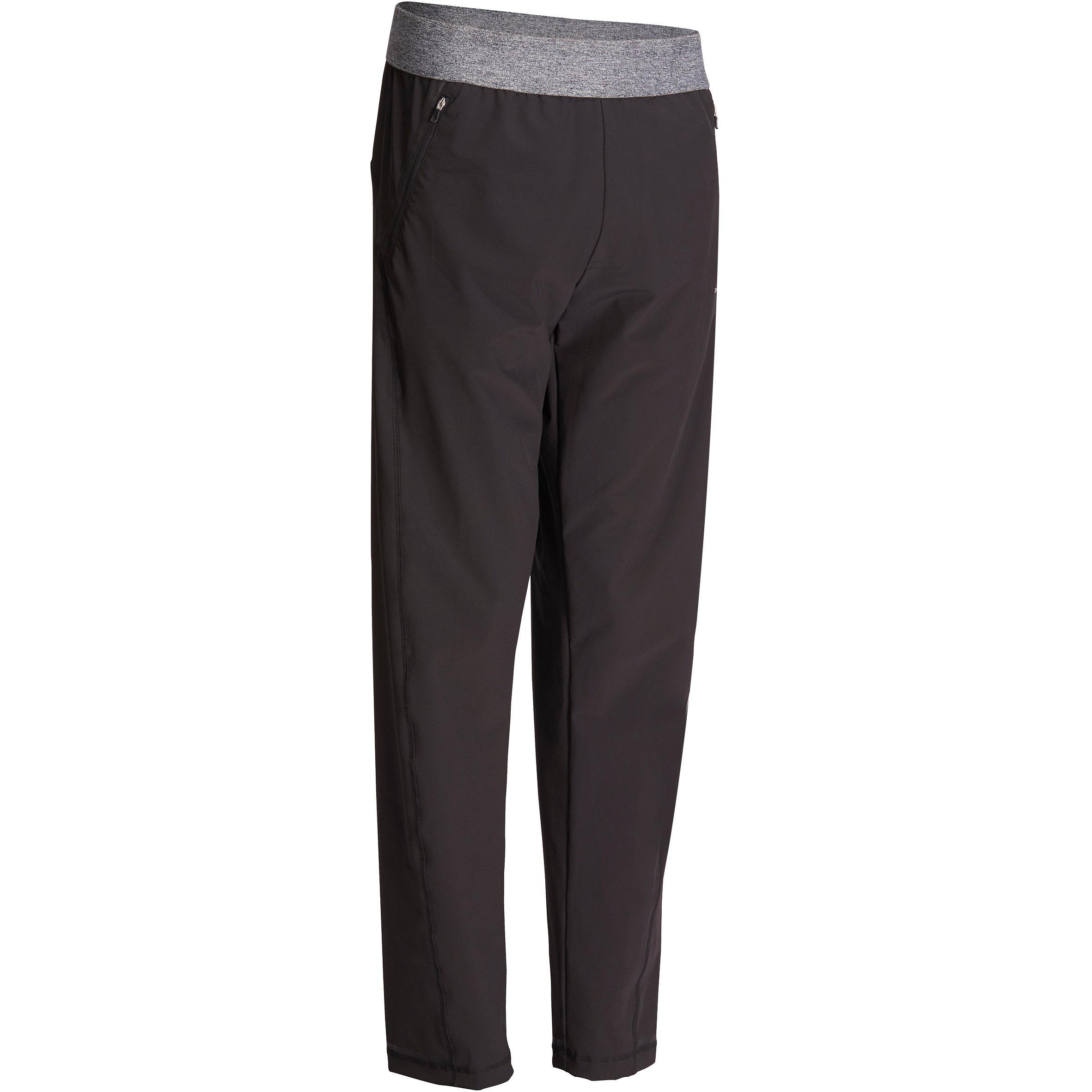 Pantalon toile YOGA homme noir