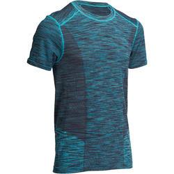 Naadloos heren T-shirt Yoga+