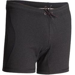Pantalón Corto Yoga Domyos Hombre Gris Oscuro