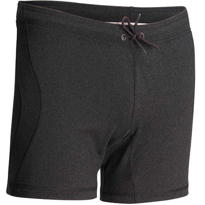 Short Hot Yoga homme gris foncé - 1089981