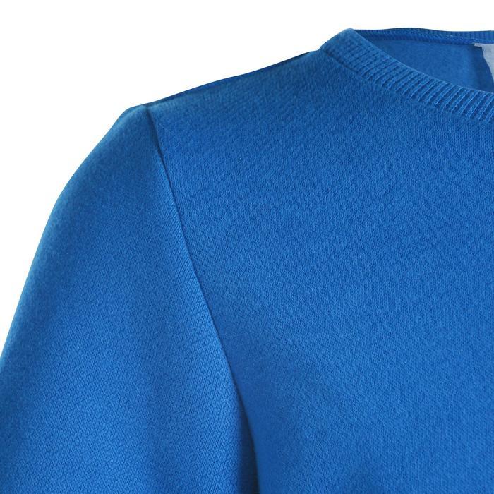 Trainingspak 100 gym voor peuters en kleuters, blauw met opdruk, Warm'y
