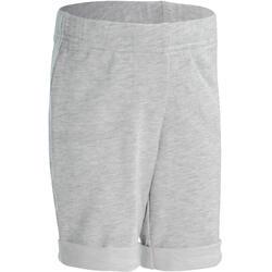 Short 500 voor peuter- en kleutergym grijs