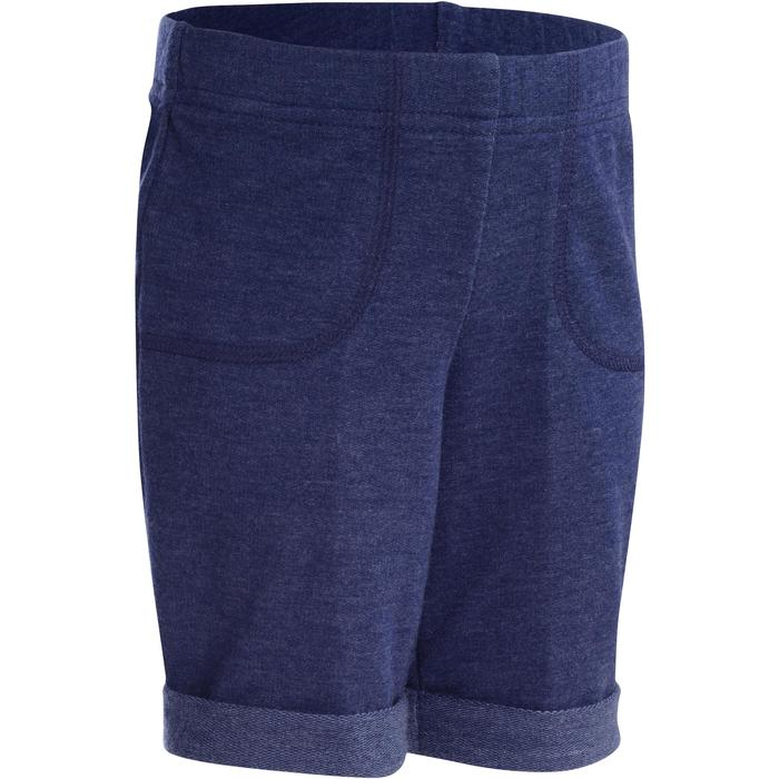 Short 500 Baby Gym Bleu