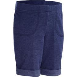 Short 100 voor kleutergym blauw