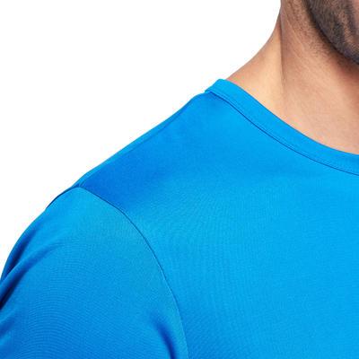 تيشيرت رياضي ENEREGY لتمارين اللياقة وتمارين الكارديو- أزرق