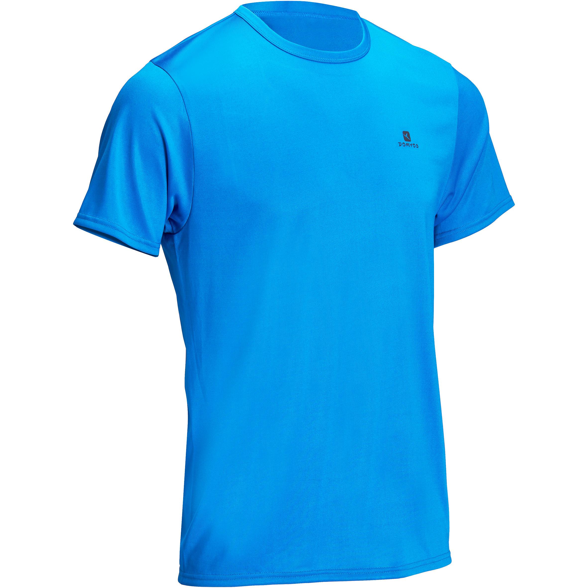 Playera fitness cardio hombre azul Energy