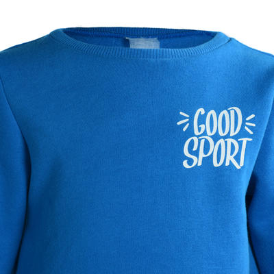100 Warm'y Baby Gym Tracksuit - Blue