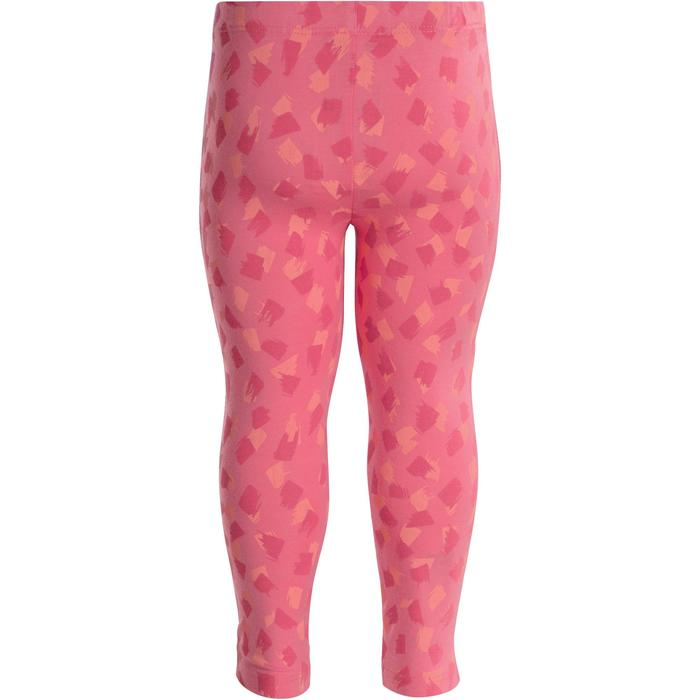 Baby Printed Gym Leggings - Pink