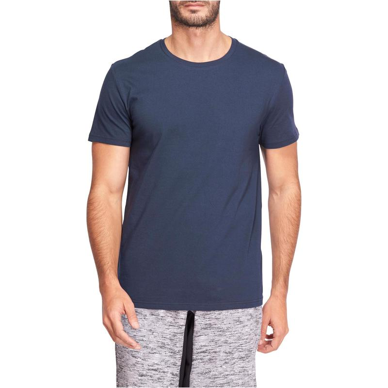 T-shirt Regular de alongamentos Homem Sportee 100 Azul-marinho ... 1a19e191f12
