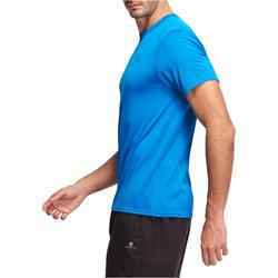 Camiseta fitness cardio hombre azul Energy