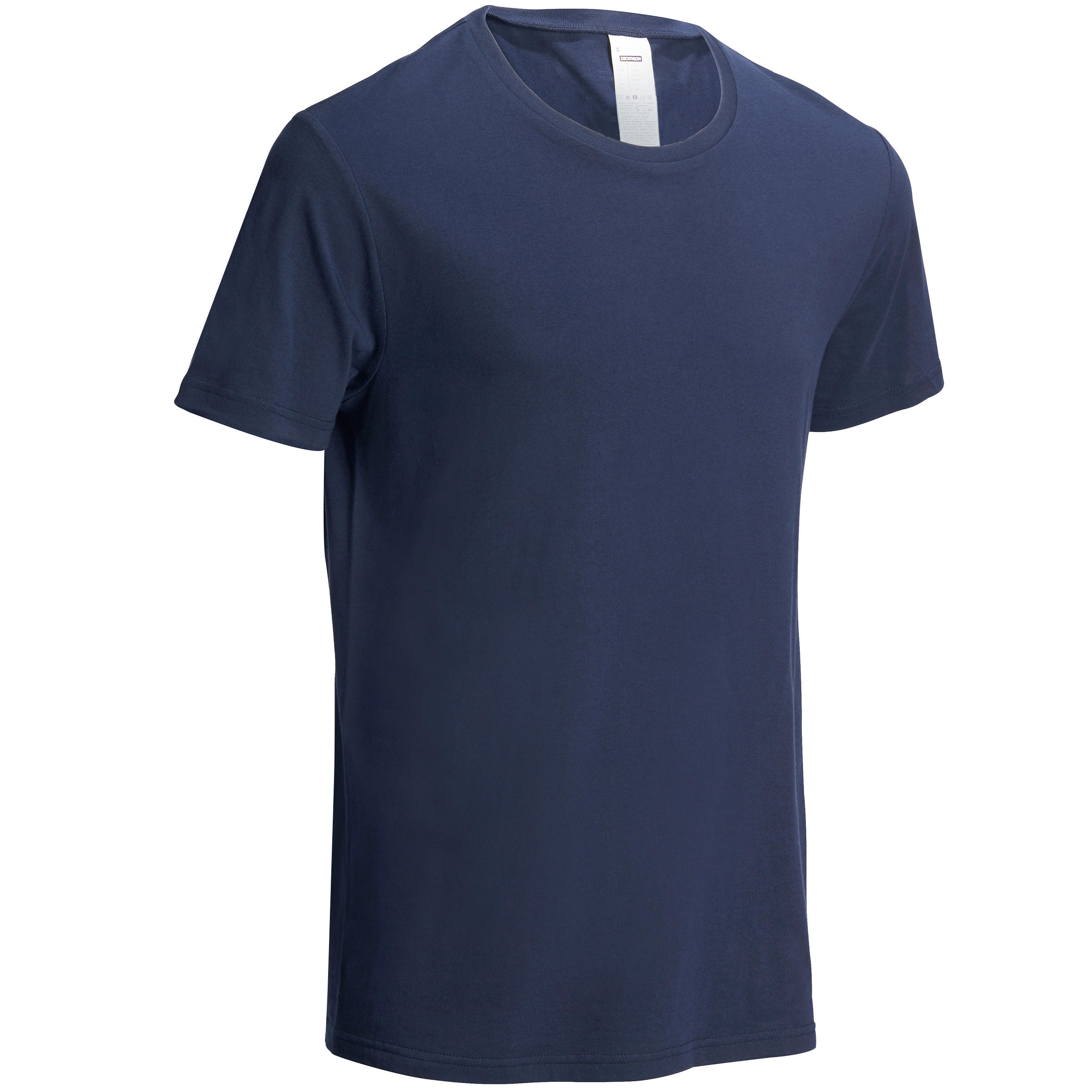 Camiseta de gimnasia y pilates para hombre azul marino Sportee