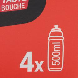 Bebida isotónica en polvo ISO+ fresa cereza 4 x 38 g