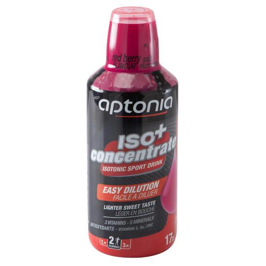 Siroop voor isotone dorstlesser ISO+ rode vruchten 750 ml - 1090290