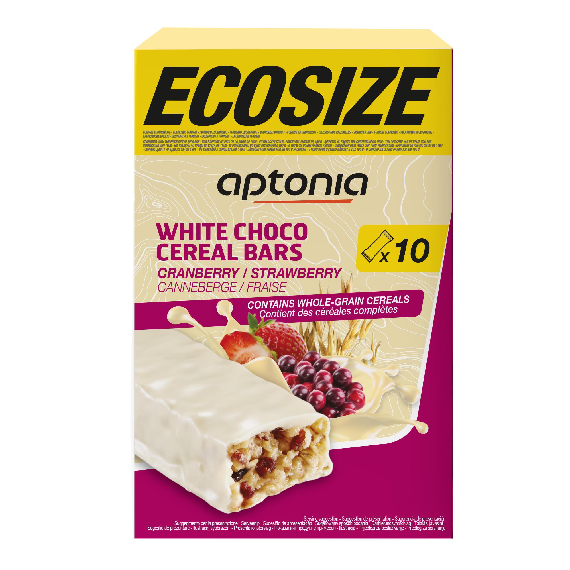 Aptonia Voordeelverpakking omhulde graanrepen witte chocolade aardbei cranberry 10x 32 g kopen? Sport>Sportvoeding & sportdrank>Sportvoeding tijdens inspanning met voordeel vind je hier