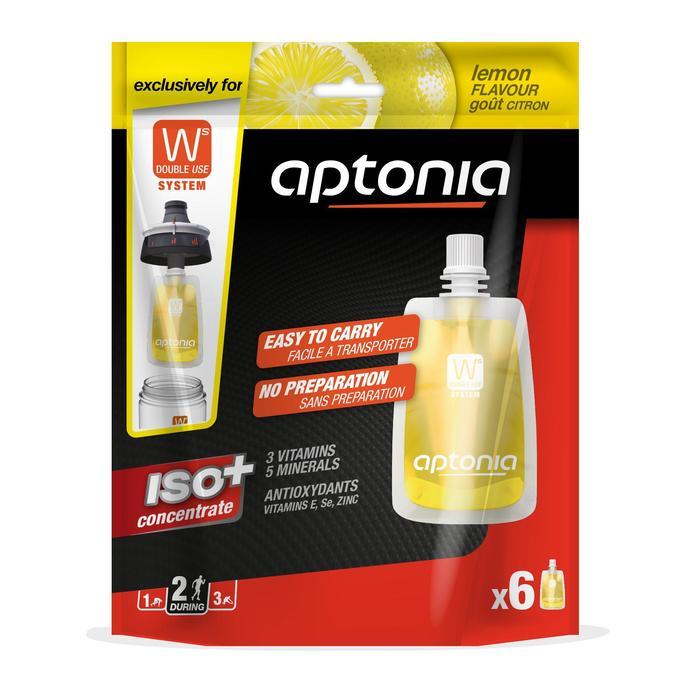 Bebida isotónica monodosis ISO+ limón 6 x 43 ml