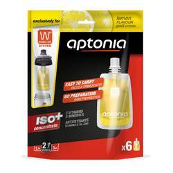 Iso-Getränkesirup für Trinkflasche Double Use Zitrone 6x43ml