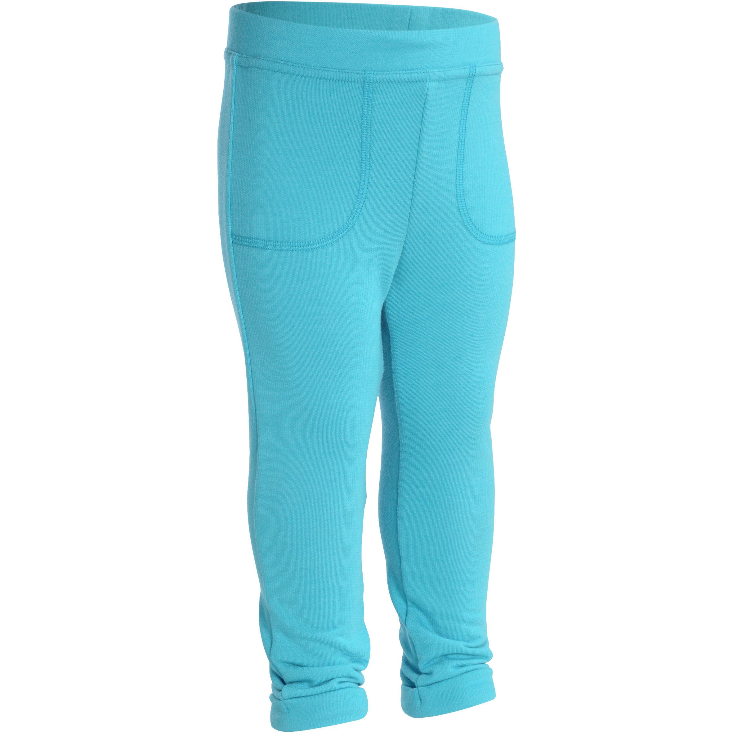Gym broek voor peuters blauw