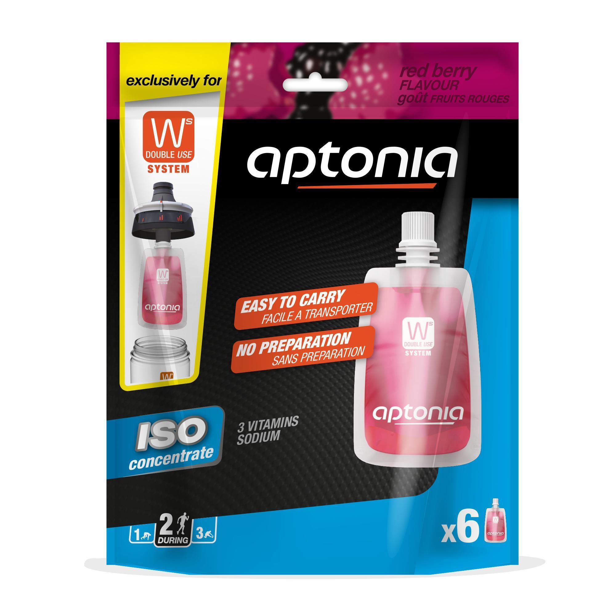 Aptonia Zakjes isotone sportdrank ISO+ rode vruchten 6x 43 ml kopen? Sport>Sportvoeding & sportdrank>Sportvoeding tijdens inspanning met voordeel vind je hier