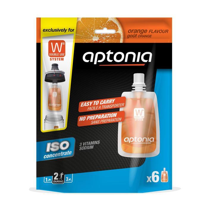 Iso-Getränkesirup für Double Use-Trinkflasche Orange 6 x 43 ml