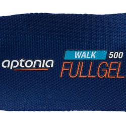 Inlegzolen Walk 500 Full Gel blauw - 1090378