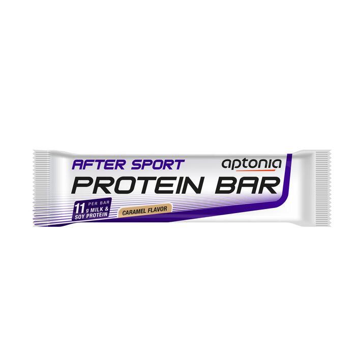 Barre protéinée AFTER SPORT caramel chocolat unitaire 40g - 1090380