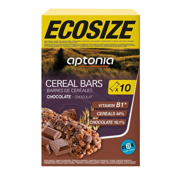 Barrita de cereales CLAK ECOSIZE chocolate 10 x 21 g
