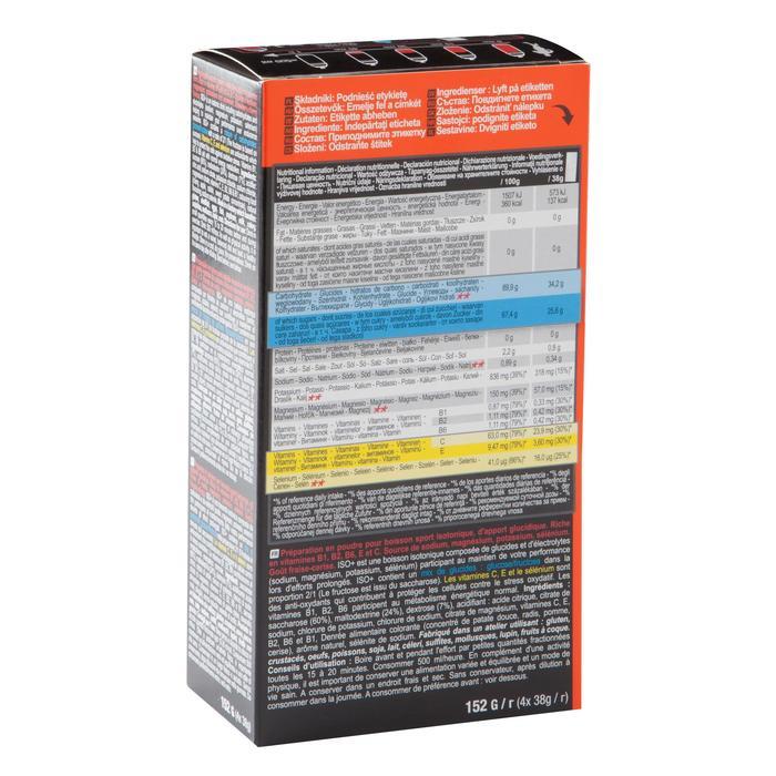 Boisson isotonique poudre ISO+ fraise cerise 4x38g - 1090435