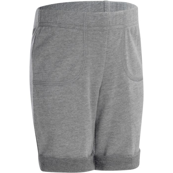 500 Baby Gym Shorts - Grey - 1090457