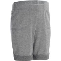 500 嬰幼兒健身房運動短褲 - 灰色