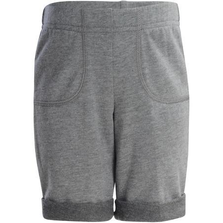 500 Baby Gym Shorts - Abu-abu