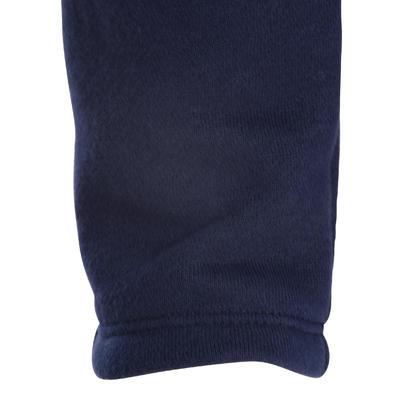 بنطلون رياضي Warm'y Baby 100 للأطفال - أزرق داكن