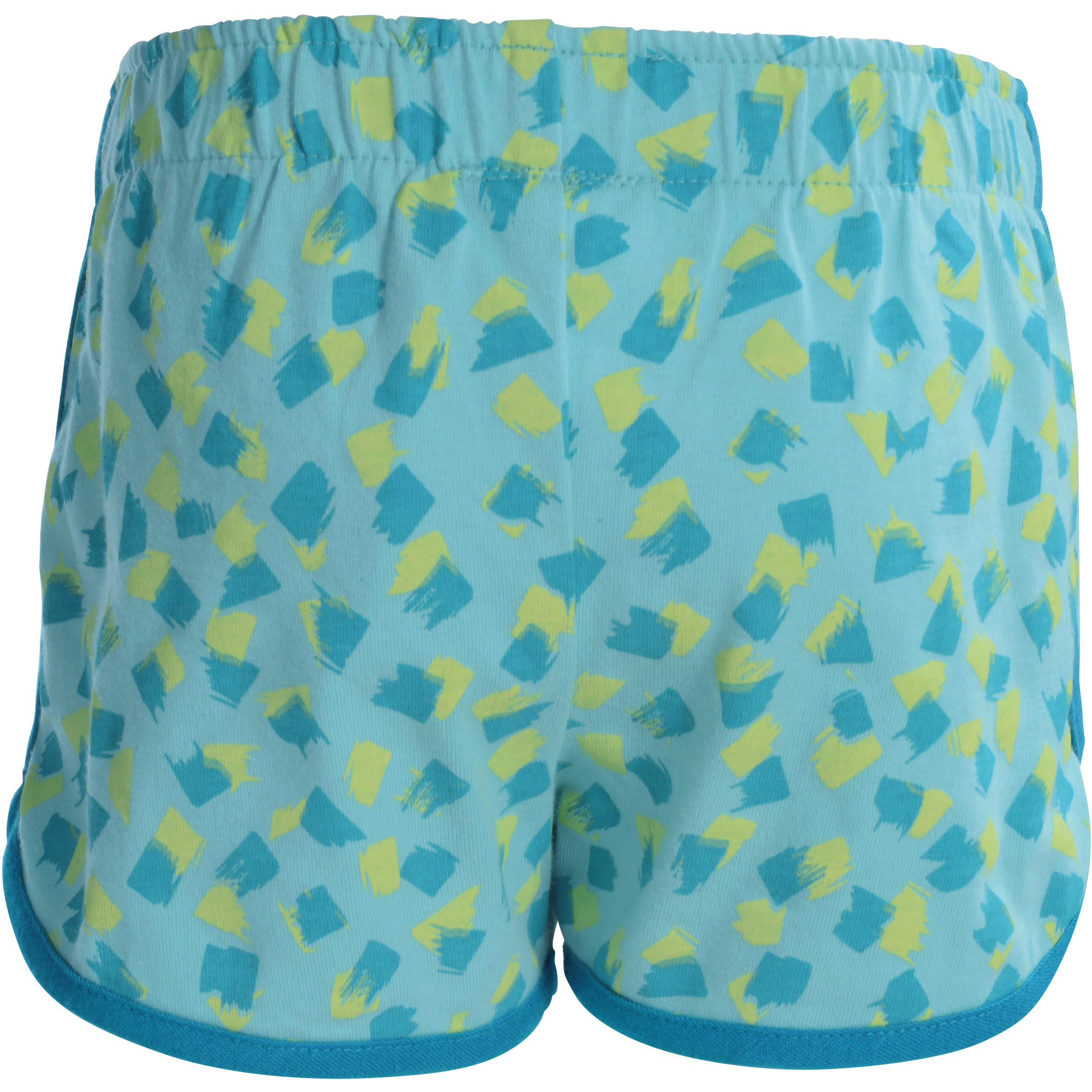 Baby Printed Gym Shorts - Navy Blue