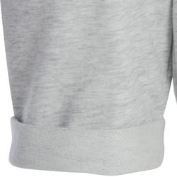 Short 100 voor kleutergym grijs