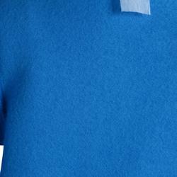 Jogginganzug 100 Warm'y Gym Baby blau bedruckt