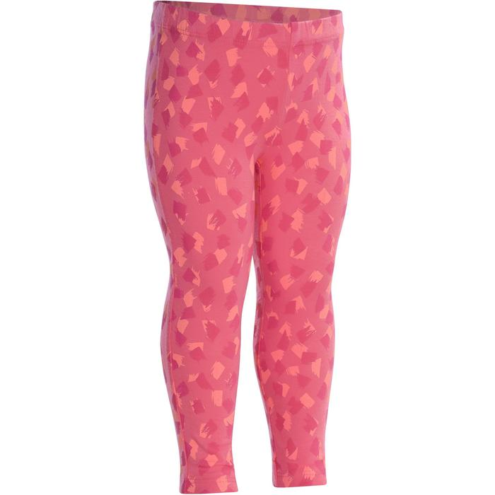 Baby Printed Gym Leggings - Pink - 1090642