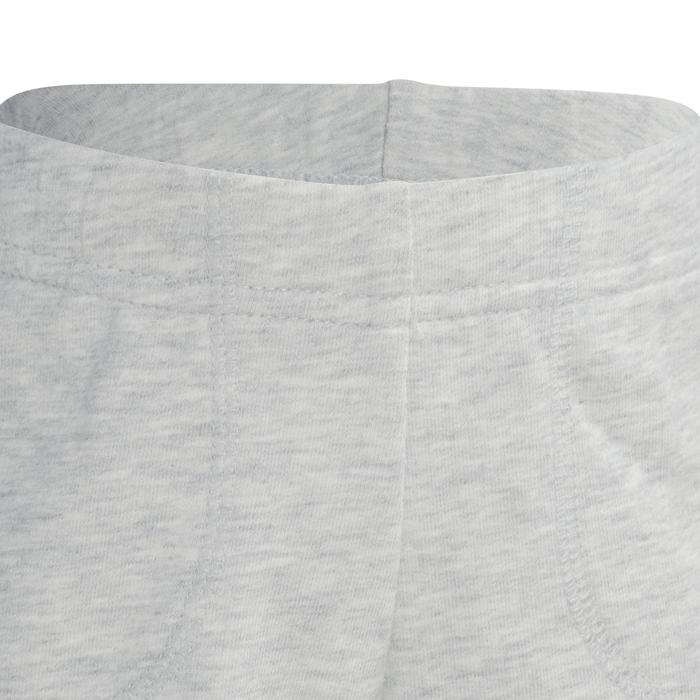 Sporthose kurz 100 Gym Baby grau