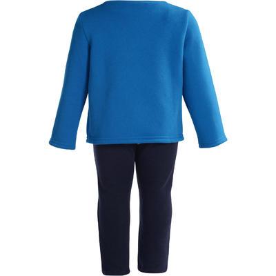 بدلة رياضية للأطفال - لون أزرق