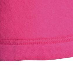 Jogginganzug 100 Warm'y Babyturnen rosa bedruckt