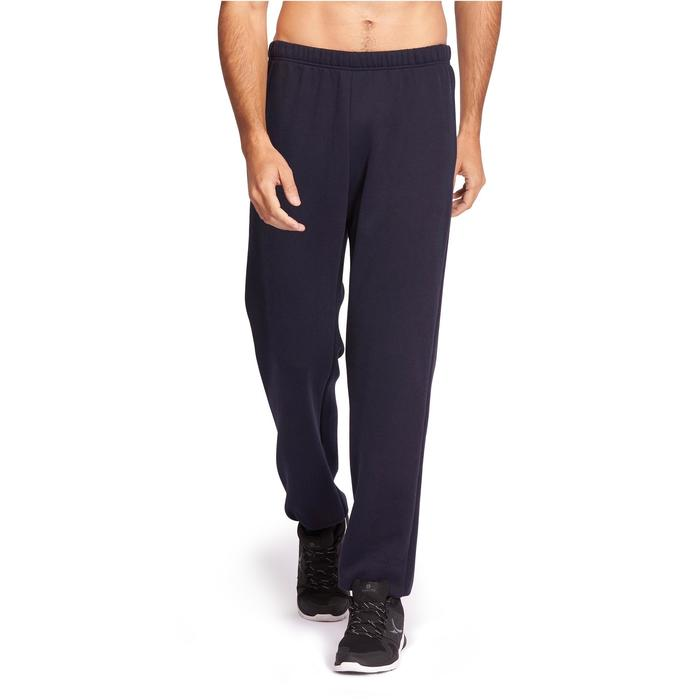 Pantalon 900 regular Pilates Gym douce homme bleu marine