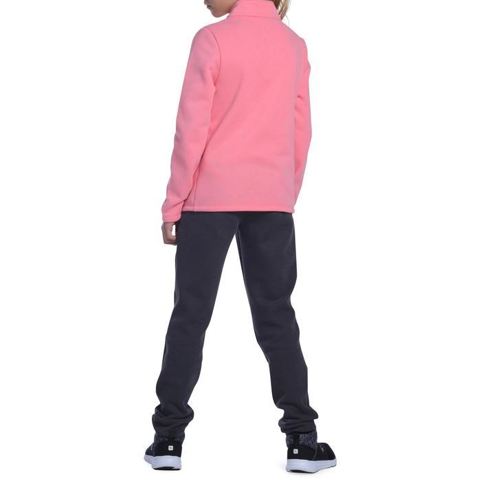 Survêtement chaud zippé imprimé Gym fille Warm'y Zip - 1090855