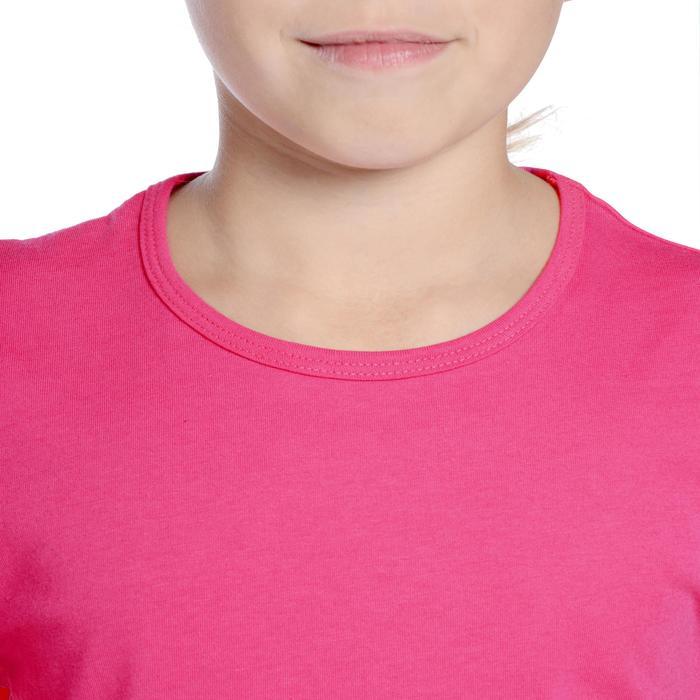 T-Shirt manches courtes 100 Gym fille - 1090870